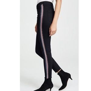 MOTHER Looker Ankle Fray. Size 28. NWT. $250
